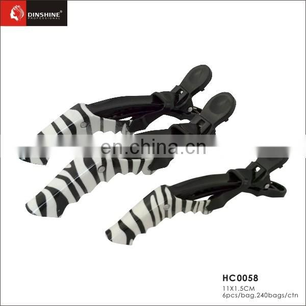 factory price durable plastic hair claw clip for wholesale