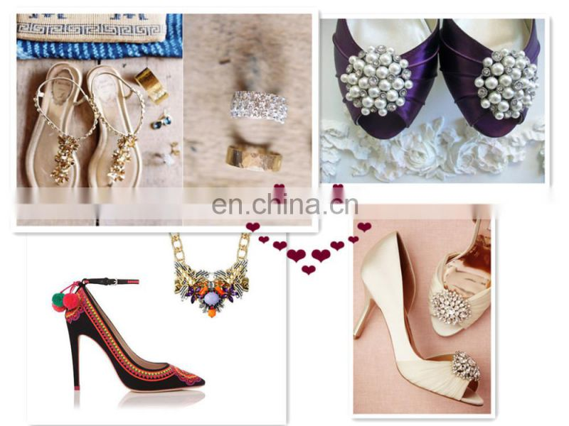 Bailange wholesale shoes accessories for women shoe