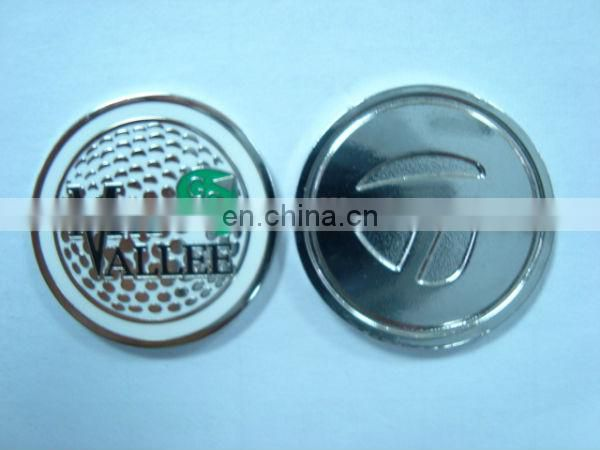 Cabo real metal golf ball markers