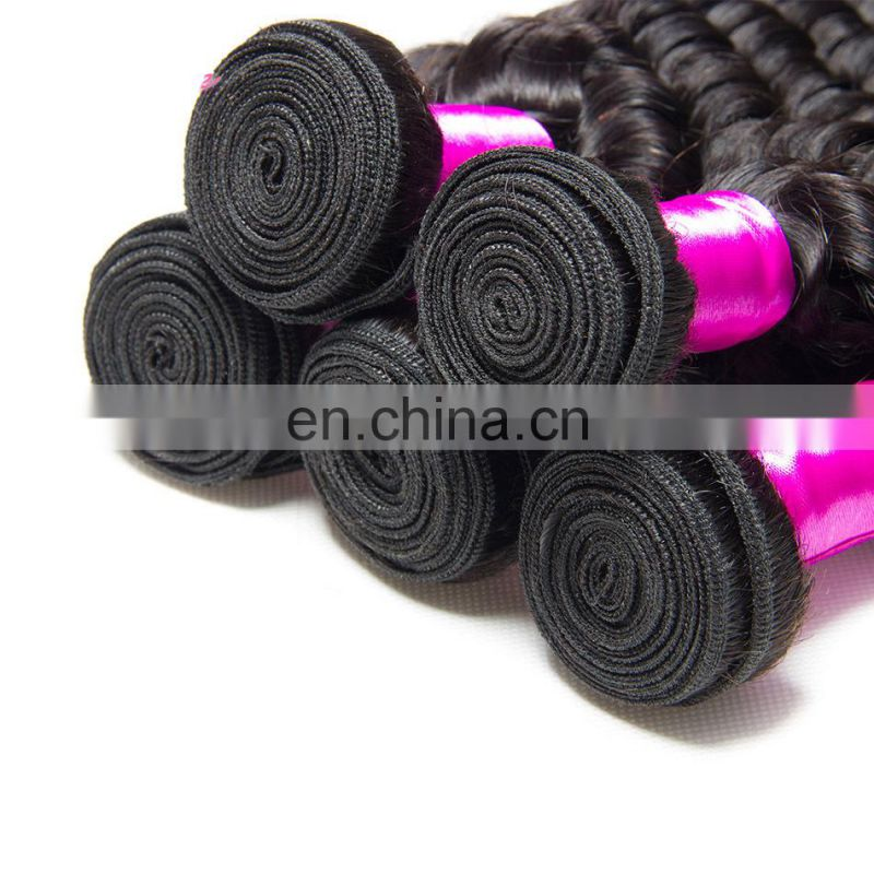 Brazilian remy human hair kinky curly weave 100% virgin remy hair