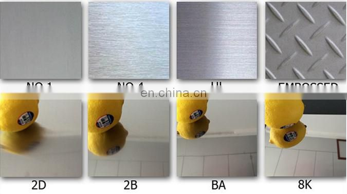 8mm thick 1.4315 stainless steel sheet 304 304l 304n With 2B BA Surface