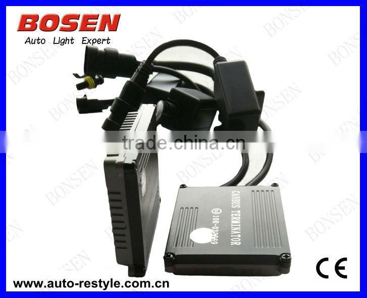 AC slim kits 35W HID xenon kit 4300K 6000K 8000K Hi-low beam single beamBest hid kit brand 12v 35w h7 xenon super vision hid kit