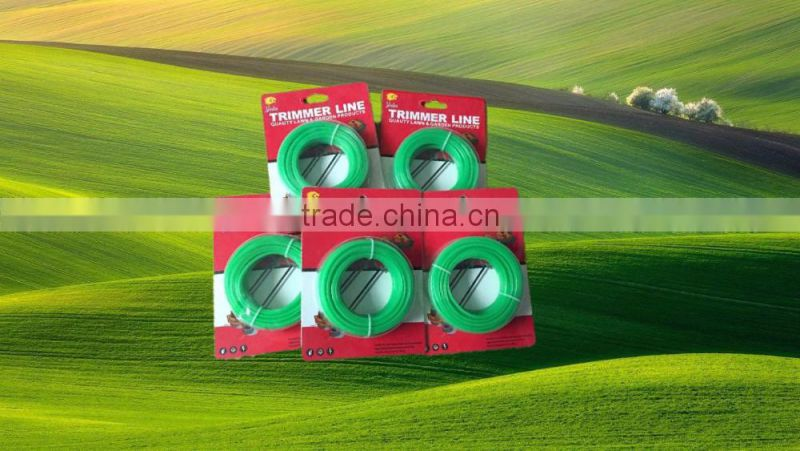 Swing Plastic Blade trimmer line Agriculture Machinery Parts Nylon grass cutter Trimmer Line innovative trimmer line