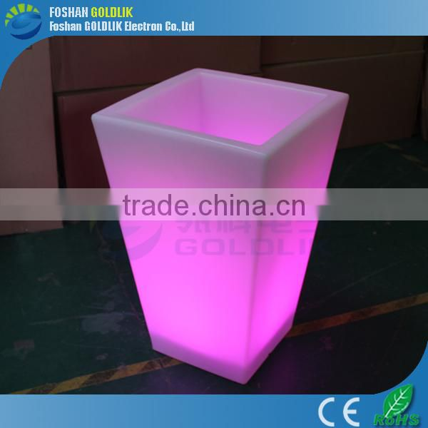 Wholesale Super Bright Lighted Outdoor Flower Pots
