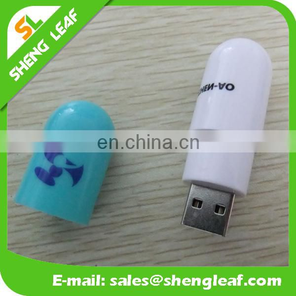 Plastic USB Flash Drive Logo Advertising