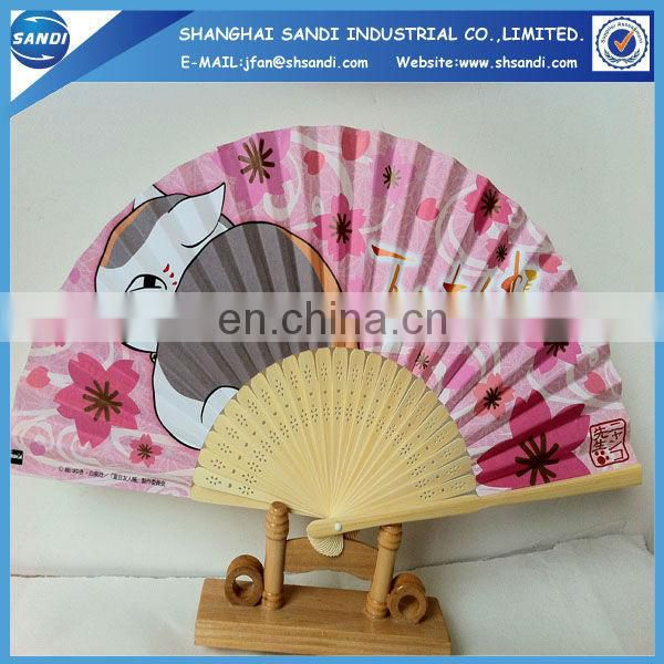 Bamboo Craft Fan/advertising bamboo hand fan
