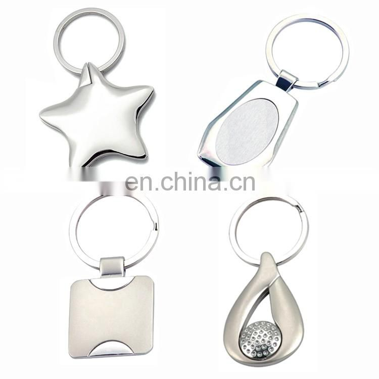 Custom metal silver home decor personalized guitar souvenir keychain