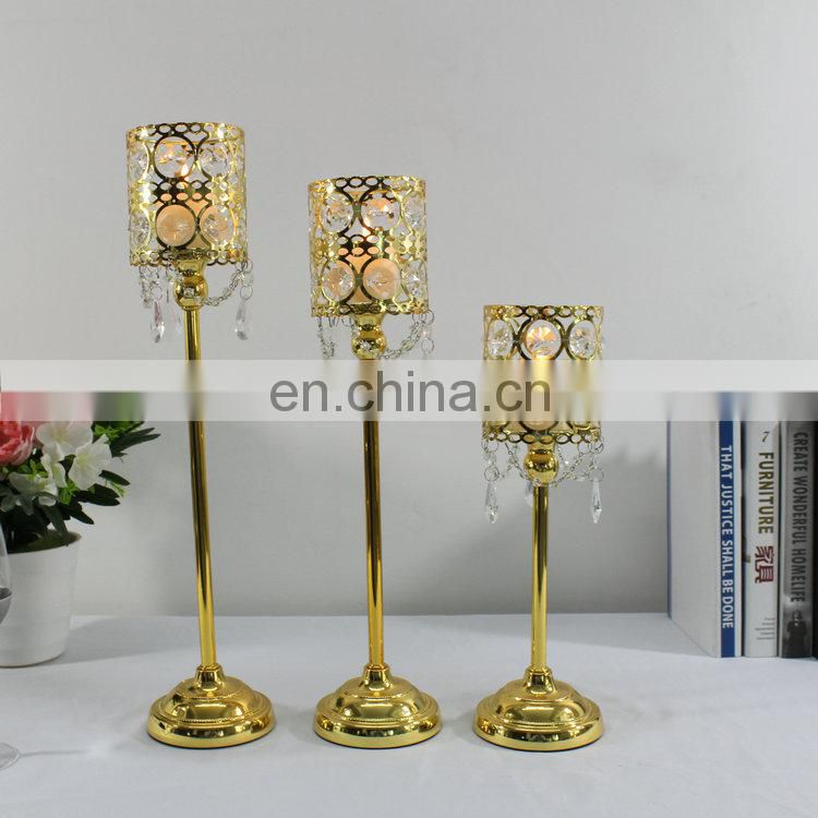 Crystal Votive Candlestick Candle Holder For Wedding Centerpieces Of