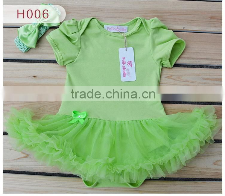 wholesale Fashion plain Baby Clothing Set Carters Baby Girl Sets Romper with Tutu Newborn baby Spring Summer Clothes SK-7