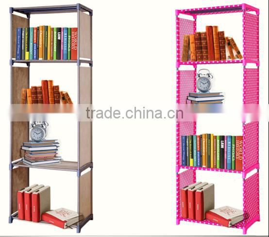 Popular fabric bookshelf /Book cabinet /Storage rack