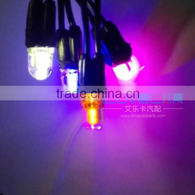 Universal availability low price T10 COB interior auto light, T10 led canbus for cars