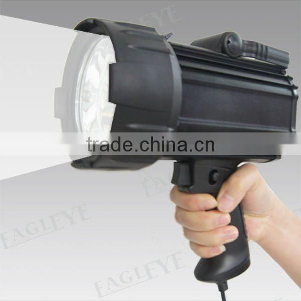 Powerful Q4 Cree LED 3W hunting searchlights,Aluminum Alloy Housing battery handheld spotlight 3.7v 3Ah Lithium battery