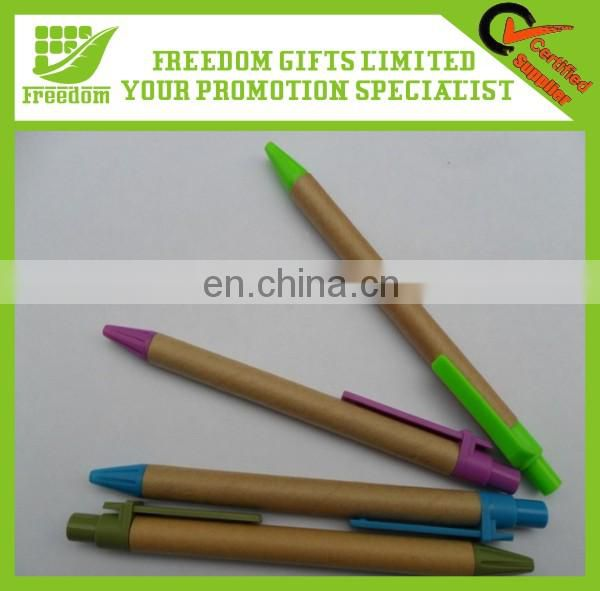 Hot Sale Promotional Eco-Friendly Paper Pen
