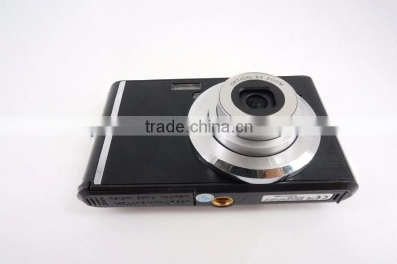 18MP digital video camera with 6 x optical zoom digital camera