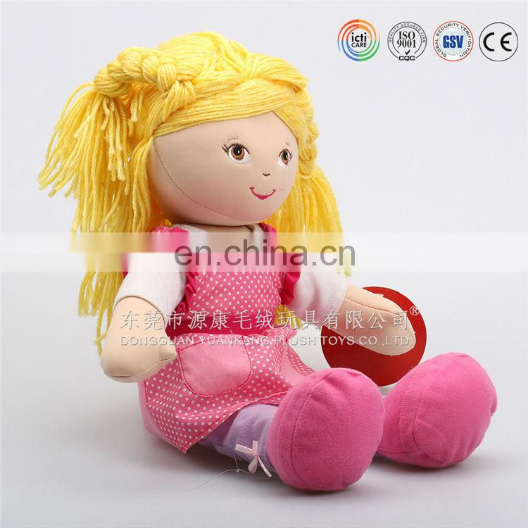 ICTI Audited Factory OEM/ODM Plush Cloth Dolls & Stuffed Cloth Dolls & Lovely Baby Cloth Dolls