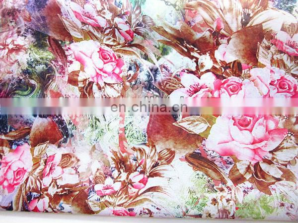 100%digital printed upholstery fabric