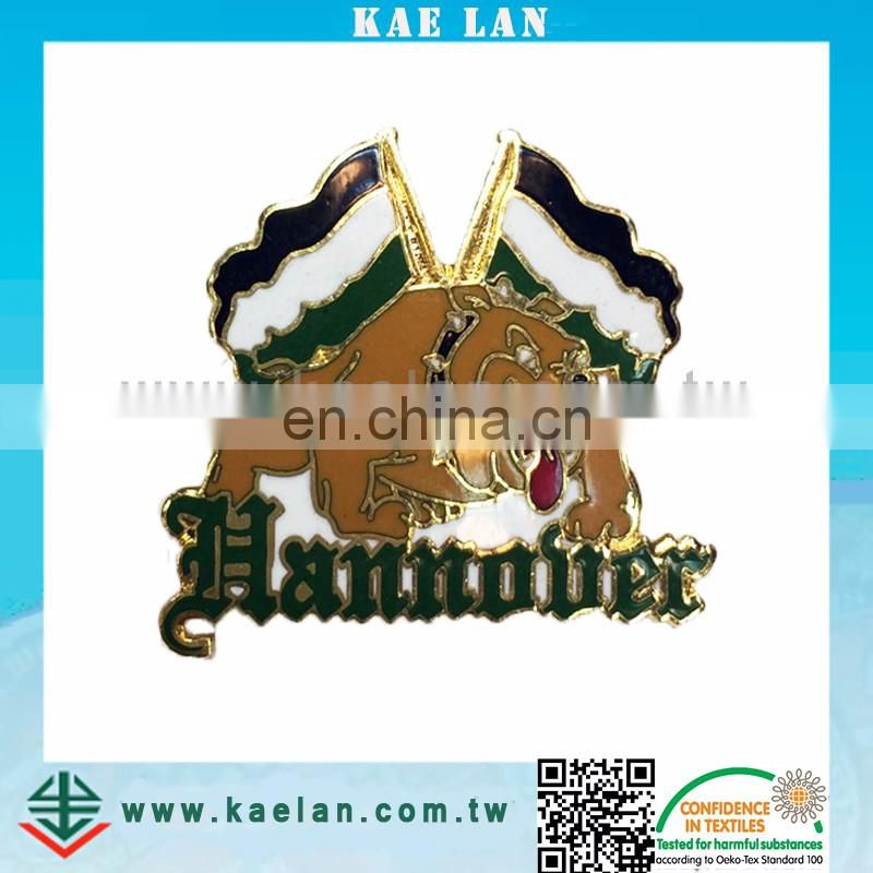 Customized high quality metal badge for wholesale