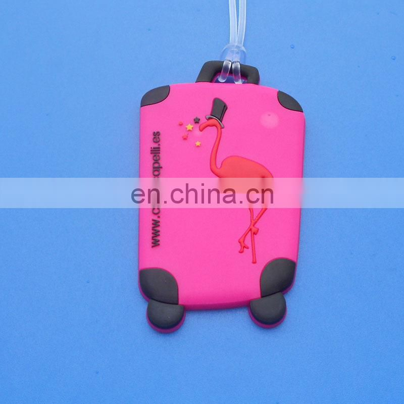 Thailand travel Thailand National Flower Rubber luggage tag souvenir