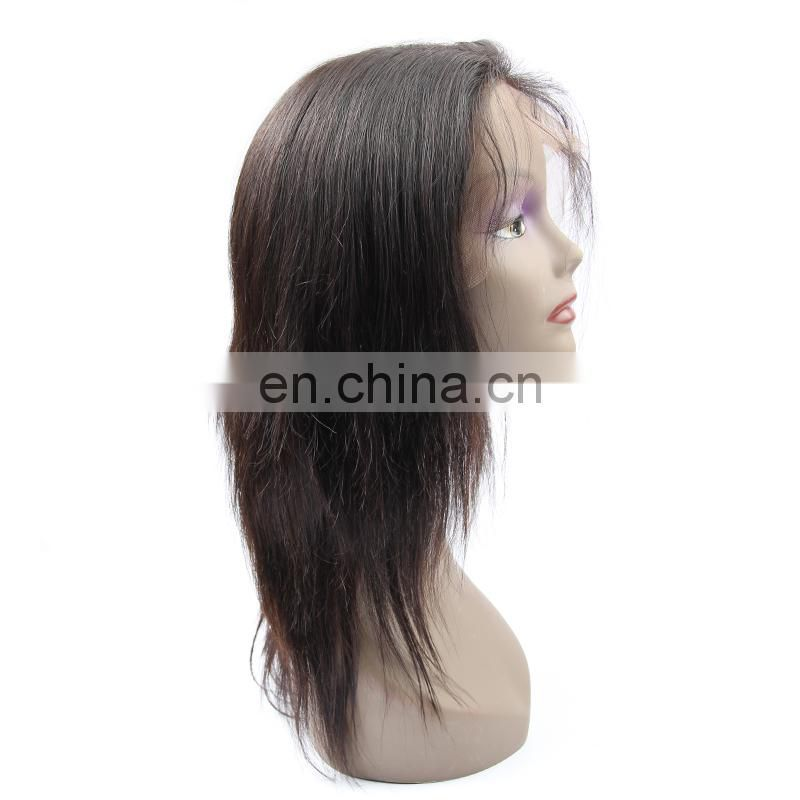 Newest human hair 360 lace frontal wig