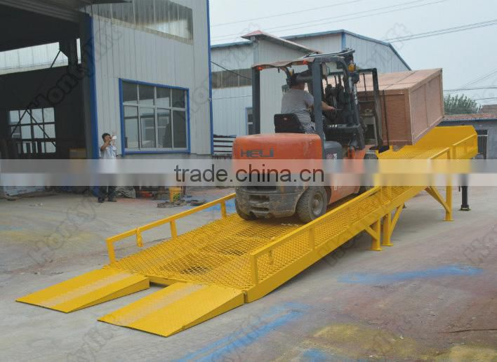china supplier 10T CE truck loading dock ramp/cattle loading ramp