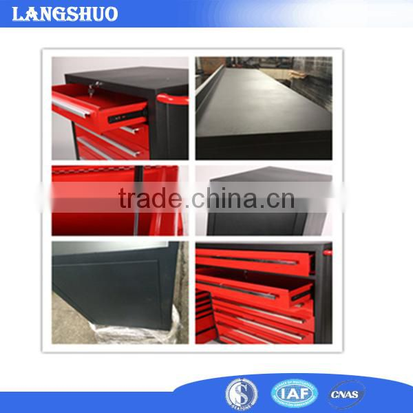 Used Tool Cabinet Type Metal Material Rolling Work Box Trolley
