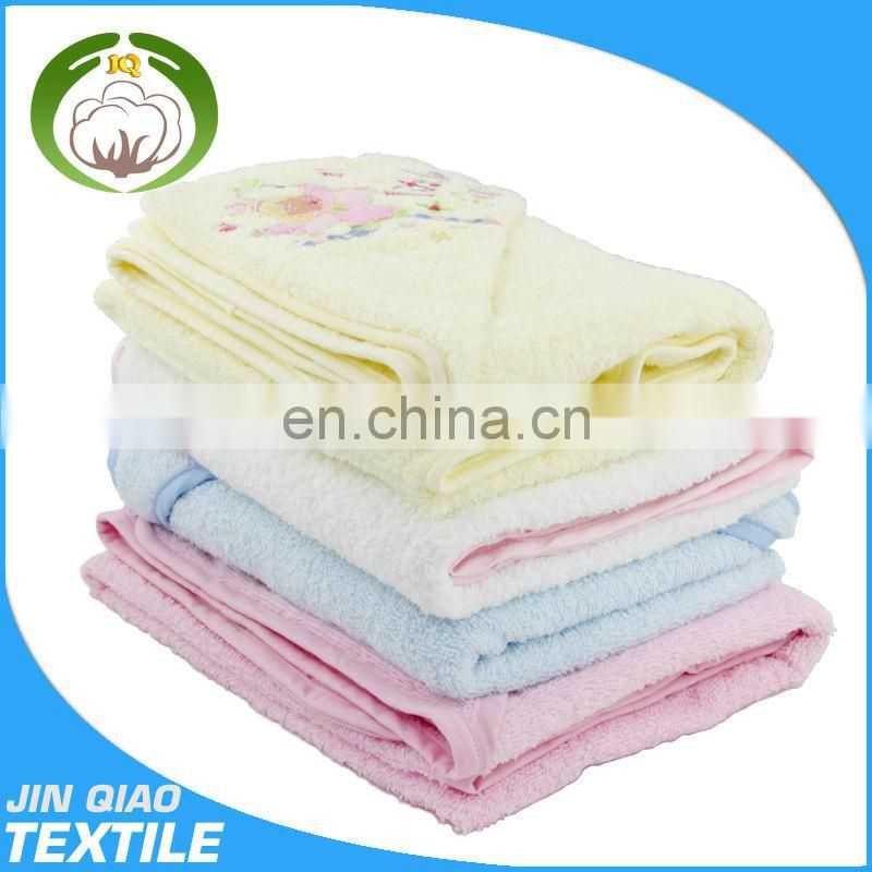 2014 100% cotton cute kids woven wrap baby towelling robe