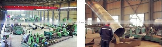 spiral bulk tube api steel pipe spiral china spiral weld steel tube
