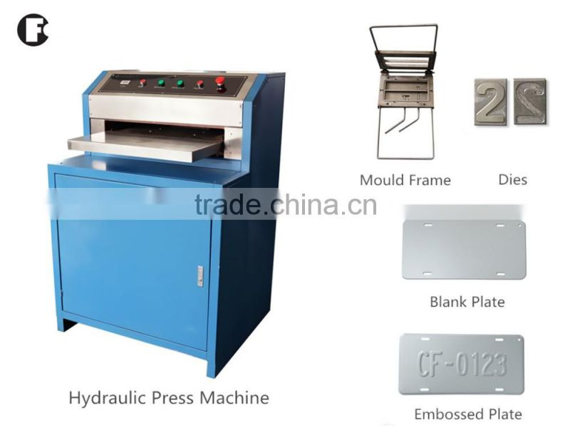 car plate machine