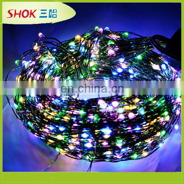 unique design color changing non led christmas lights