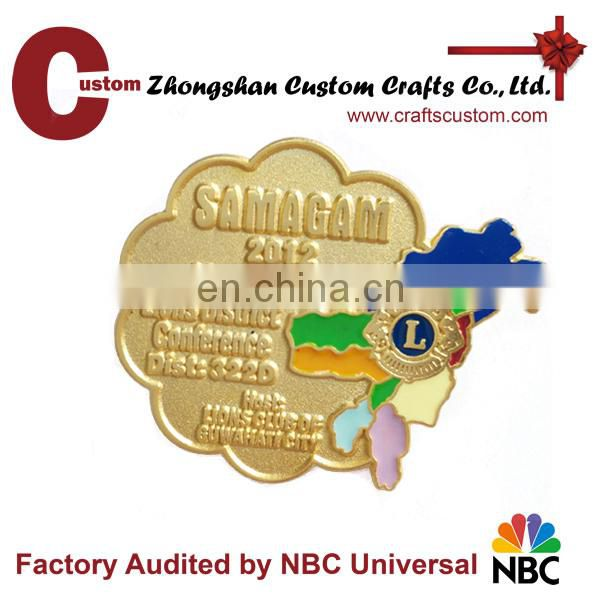 wholesale custom metal lapel pins supplies