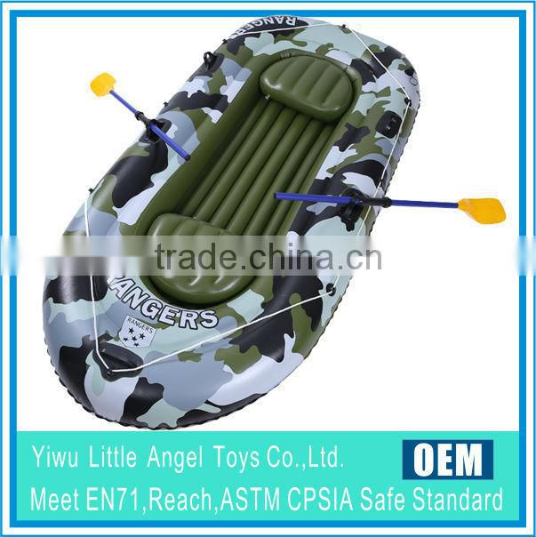 EN71 6P PVC inflatable 4 handles snow tube