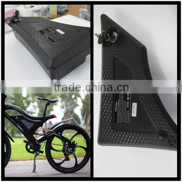 Hot selling, multi-fit typer electric bike lithium battery, 36V10Ah, li po type