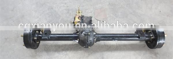 straight trailer axle manufacturing for agricultural cargo utility trailer