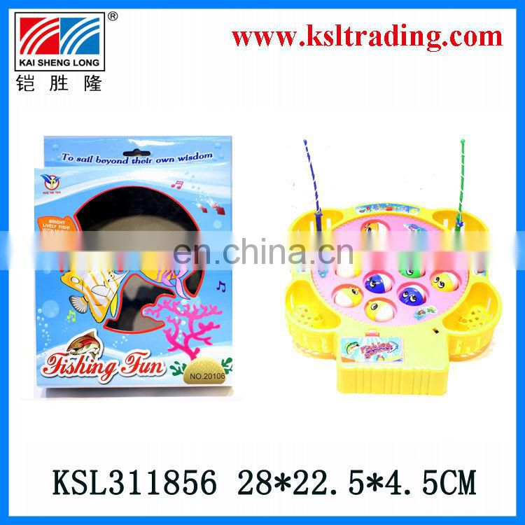 plastic toys kids electric fishing game