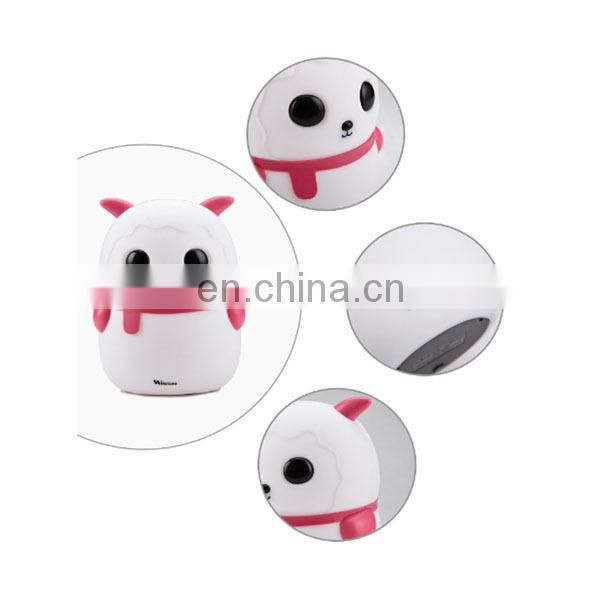 Popular fashionable led table lamp cute bedroom lamp animal shape led table light