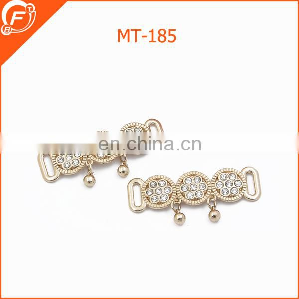 fashion circle metal trim for garment
