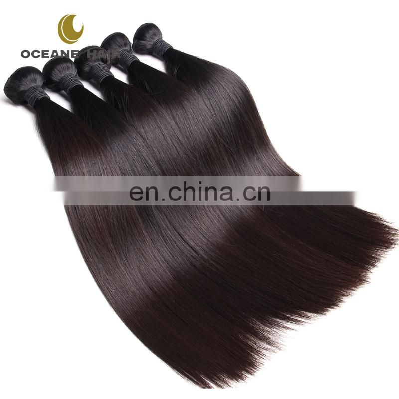 Kinky straight hair 6 inch hair weaving