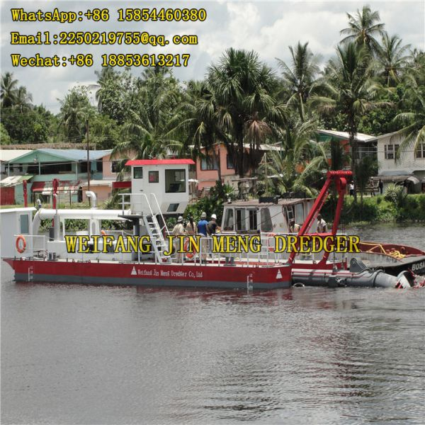 Grab Hopper Dredger Portable 500 M³/h Image