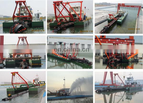 Cutter suction sand dredging boat