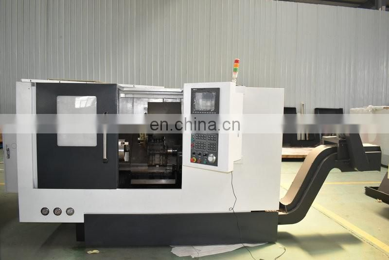 Taiwan Linear Guide Cnc Lathe Machine with Servo Motor Image