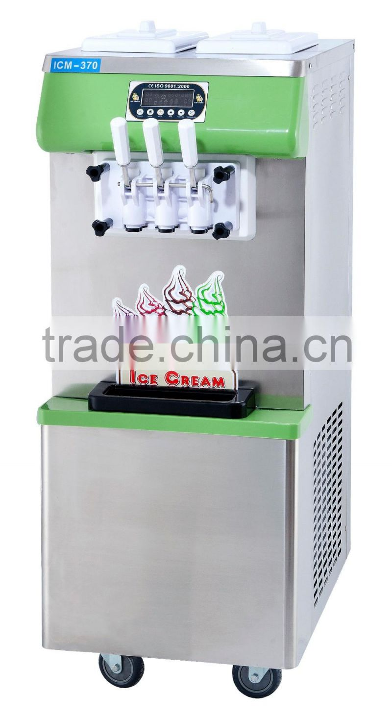 New Hot Sale Stainless Steel Commercial Ice cream Making Machine / Soft Serve Ice Cream Machine