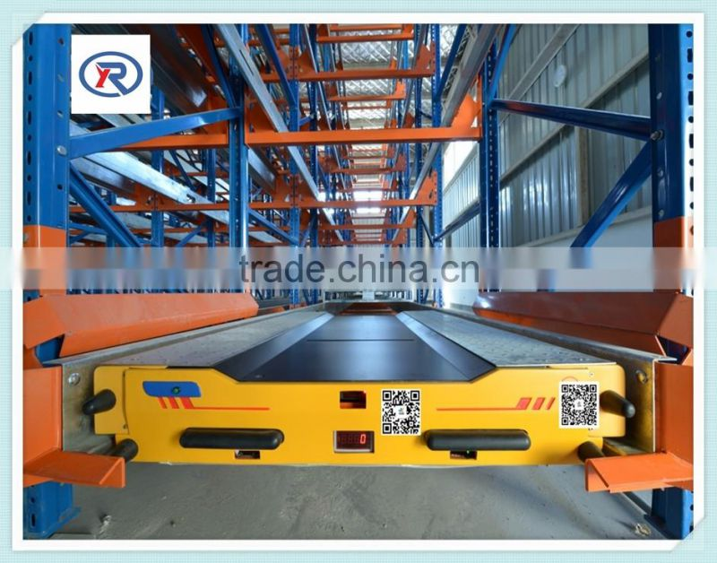 High Density Warehouse Racking Systems/Radio Shuttle Cart Racking