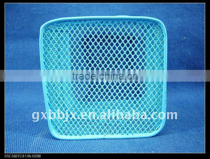 Square blue wire storage craft pen holder