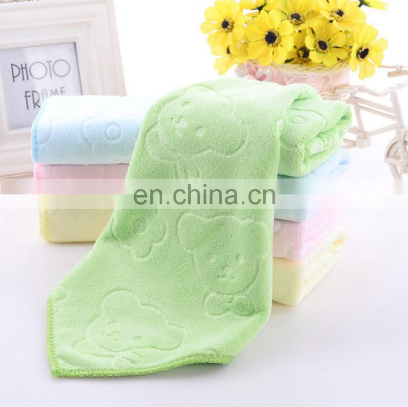 alibaba China supplier microfiber textile material kids kitchen towel travel easy take towel