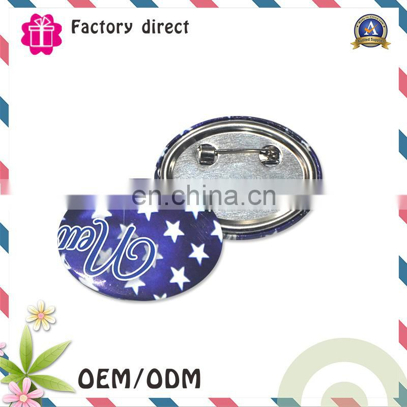 Christmas Gift Factory Wholesale Flashing light Custom Button LED Badge