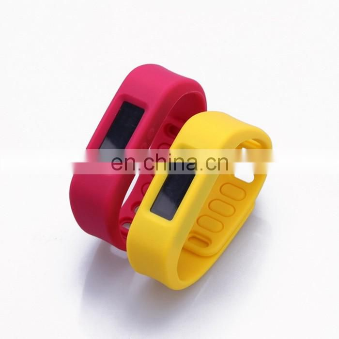 Top Selling Design Your Own Fashion Silicone Bracelet Wholesale Price Customized Design Smart Bracelet Fitness
