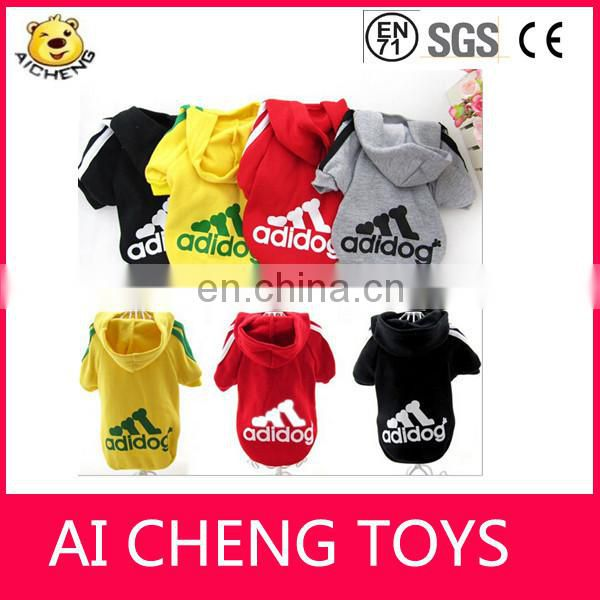 Factory wholesale pet's fleeces hoodie with various design and color