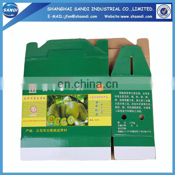Custom design printed carton corrugated box