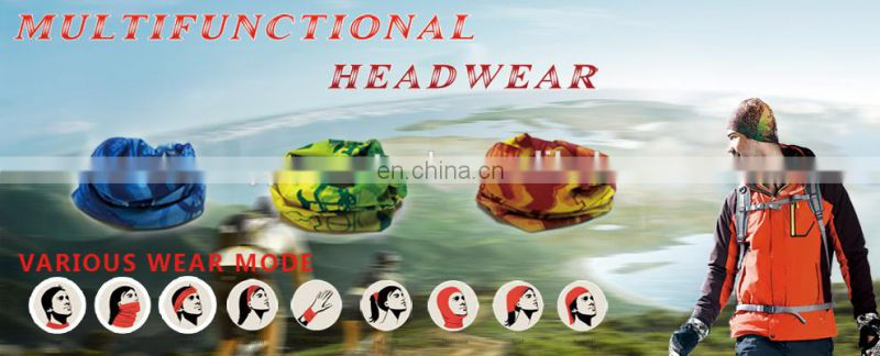 Best selling custom and stock multifunction headwear bandana