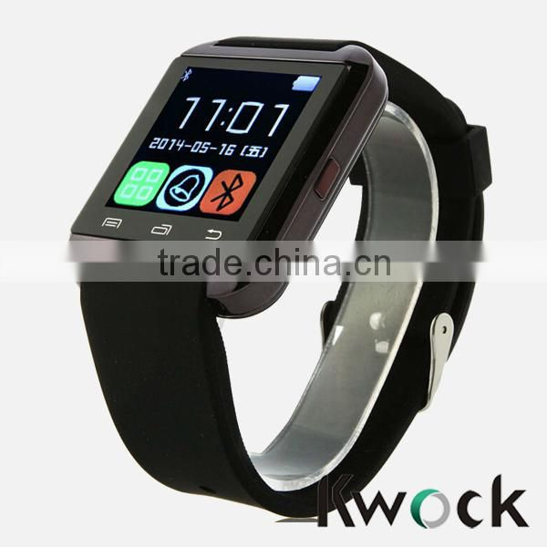 Black / White Display Color and Rotatable Design Gms bluetooth watch phone